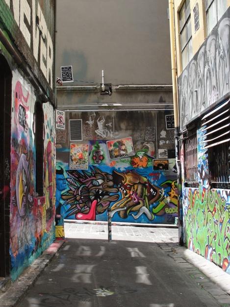 Great, bright street art.