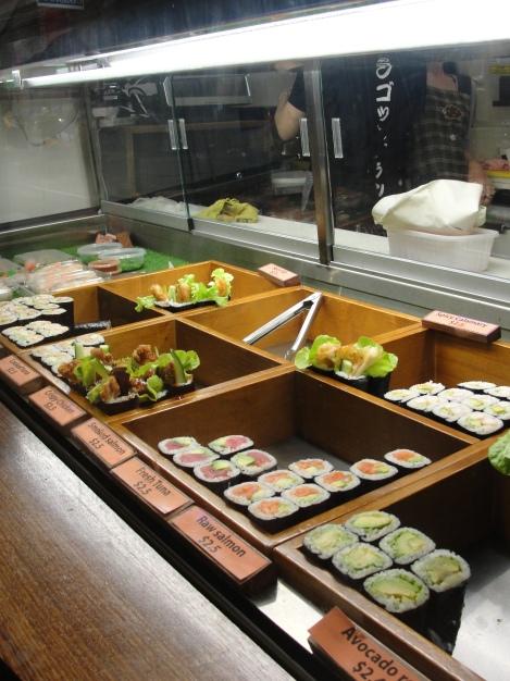 Sushi in Australia......oh no.