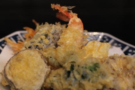 Light, crisp tempura